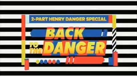 """Back to the Danger"" Two Part Teaser Trailer w Drake Bell Guest Star Henry Danger"