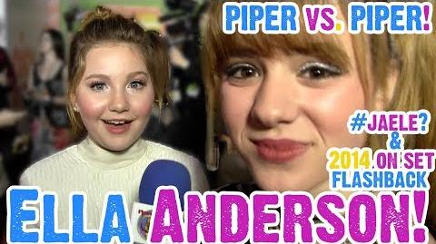 Ella Anderson Busts Jaele Dating Rumors & Talks Henry Danger with the REAL Piper!