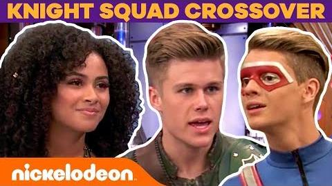 Henry Danger & Knight Squad EPIC Crossover + BTS Moments FunniestFridayEver