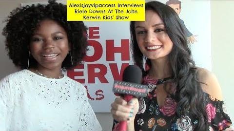 Henry Danger's Riele Downs Interview With Alexisjoyvipaccess - John Kerwin Kids' Show