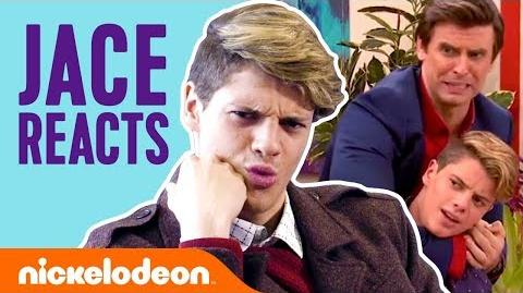 Jace Norman REACTS to Henry Danger Scenes! 🤪 TBT