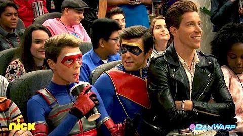 "Shaun White & The Adventures of Kid Danger! - Toon in for Danger - ""Henry Danger"" - Dan Schneider"