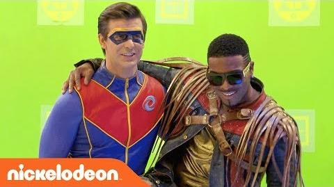 BTS of the Henry Danger & Game Shakers Crossover! Danger Games Nick