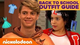 Back to School Outfit Ideas Guide! ft. Henry Danger & All That Cast TryThis