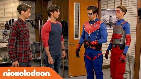 Captain Man & Kid Danger Time Travel & Meet Themselves ⏳ Henry Danger Nick