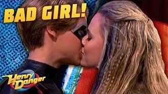 Kid Danger Kisses A Bad Girl 😘 Henry Danger