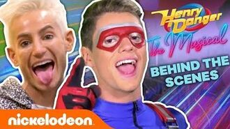 Go BTS w Jace Norman & Riele Downs for Henry Danger the Musical! 🎶 NickStarsIRL