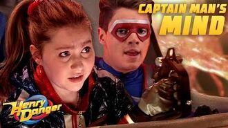 Kid Danger Travels INSIDE of Captain Man's Head! Henry Danger