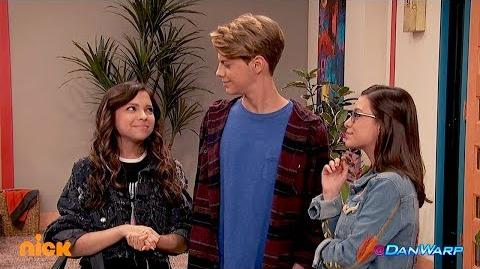 The Game Shakers Meet Henry Hart-- IN SLOW MOTION! Danger Games Dan Schneider