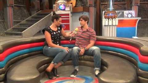Cooper Barnes BTS @ Nickelodeon's Henry Danger AfterBuzz TV