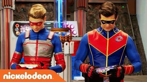 🎮 Kid Danger & Captain Man Play 'Crime Warp' 🎮 Danger Games Nov. 25 Nick