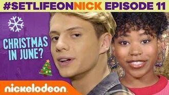 Henry Danger Celebrates Christmas... in JUNE?! 🎄 BTS Ep. 11 SetLifeOnNick