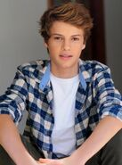Jace norman blue plaid