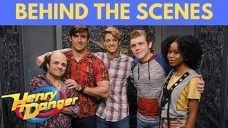 Henry Danger Behind The Scenes and Fun with the Cast Nick+