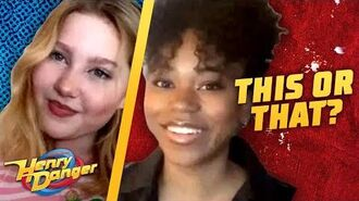 Riele & Ella Play 'This Or That' At Home! Henry Danger