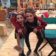 Jace Norman & Emma Shannon