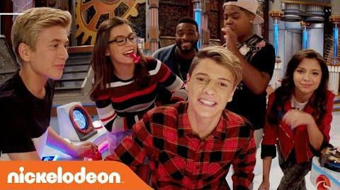 'JaceTime Special Announcement' w Jace Norman & the Game Shakers Danger Games Nov. 25 Nick