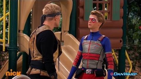 "Dan Schneider ""Henry Danger"" Hour of Power Kid Danger Fights Drex"