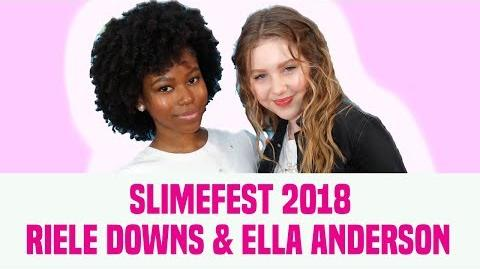 Ella Anderson & Riele Downs Talk Henry Danger, Fashion & More SlimeFest 2018