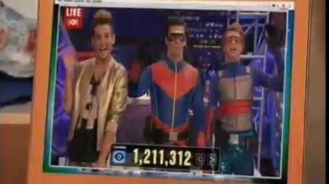 """Live & Dangerous Part 2"" Official Trailer w Frankie Grande Special Guest Star Henry Danger"