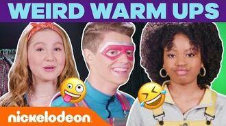 Henry Danger Cast Weird Warm Ups 🤣 NickStarsIRL