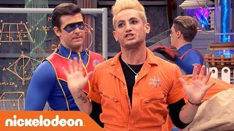 👨‍🔬Captain Man is Going to Body Swap with Frankini?! ↔️ ft. Frankie Grande - Henry Danger - Nick