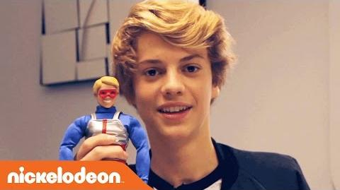 Danger & Thunder Jace Norman Unboxes Kid Danger Action Figure Nick