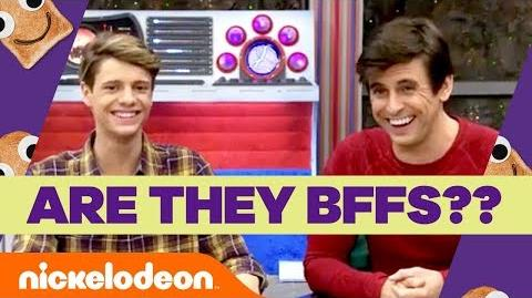 Jace Norman & Cooper Barnes Take the Nick Stars BFF Challenge 🏃💨 Henry Danger Nick