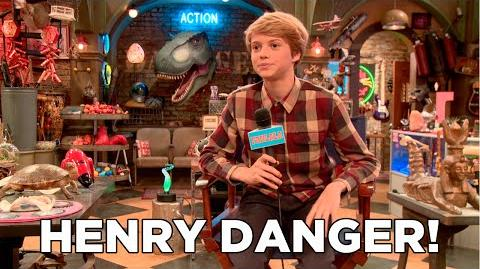 Behind The Scenes with the Cast of Henry Danger on Nickelodeon!