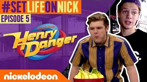 FOOD & SNACKS on the Henry Danger Set! 🌮 BTS Ep. 5 SetLifeOnNick
