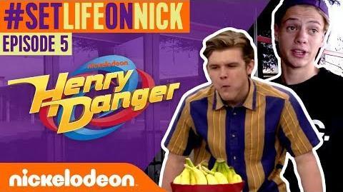 FOOD & SNACKS on the Henry Danger Set! 🌮 BTS Ep. 5 SetLifeOnNick