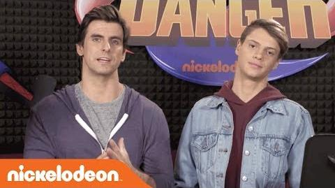Go BTS of 'The Adventures of Kid Danger' w Jace Norman & Cooper Barnes Nick