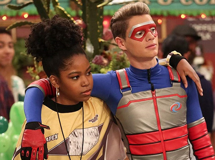 Charlotte and Kid Danger