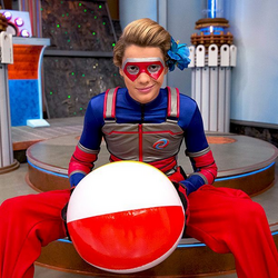 HD instagram kid danger beach ball