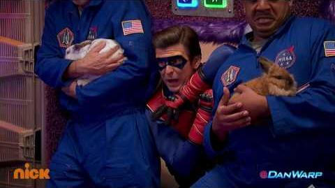 "Captain Man Rides on Outside of Love Shuttle! ""Henry Danger"" Dan Schneider"