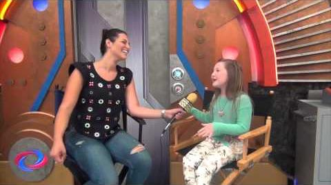 Ella Anderson BTS @ Nickelodeon's Henry Danger AfterBuzz TV