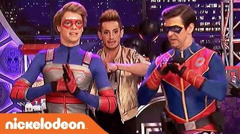 Frankie Grande (Frankini) Is About To Break the Internet! Henry Danger Nick