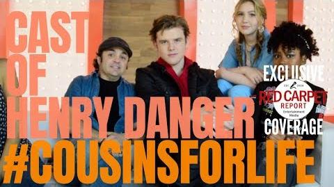 Henry Danger Cast interviewed at Nickelodeon's Fall Party @Nickelodeon HenryDanger
