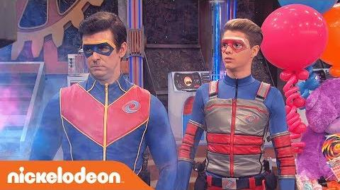 Kid Danger & Captain Man Battle the Toddler 🍼 Henry Danger Nick