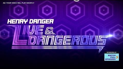 """Live & Dangerous, Part 1"" Official Trailer w Frankie Grande Special Guest Star Henry Danger"