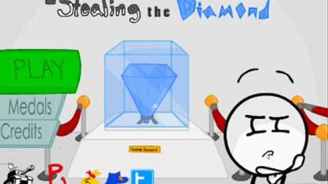 Stealing The Diamond - Sneaky Menu Loop