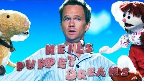 Neil Patrick Harris dreams THE LULLABYE - Neil's Puppet Dreams