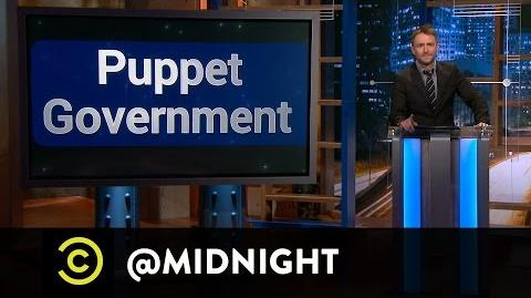 """No, You Shut Up!"" Panel - Puppet Government - @midnight with Chris Hardwick"