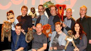 Puppet Up TV Cast