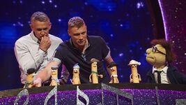 Gary Lineker and Freddie Flintoff