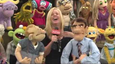 Puppet Up! - Appearance on KTLA 2