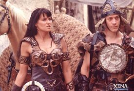 Xena and Joxer convert