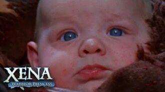 Xena Becomes a Mum Xena Warrior Princess
