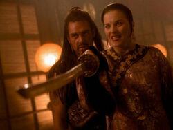 Xena Borias kill Ming