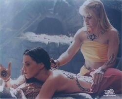 Xena and Gabrielle Mehndi
